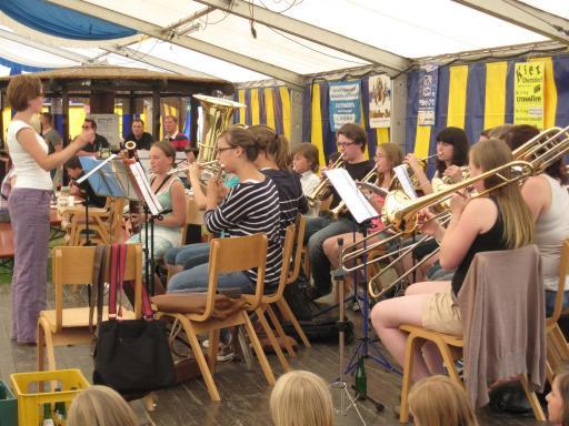 Jugendorchester MV Oberndorf, Leitung Diana Desch