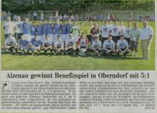 VfB Oberndorf Benefiz Malteser