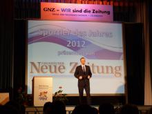 Moderator der GNZ Sportlergala; Michael Heil